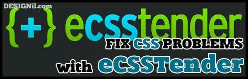 eCSStender สำหรับรัน CSS3 in IE6 เว็บดีไซน์