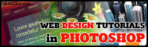 Web Design Tutorials in Adobe Photoshop