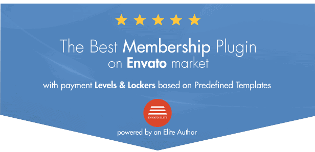 The Best membership plugin on envato market